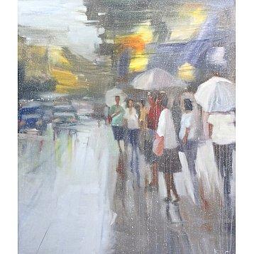 a rainy day  by attasit pokpong