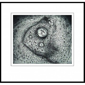 life in the field of small things  an etching by jeff gardner