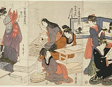 Ukiyo-e : Pictures of the Floating World – 1615-1868