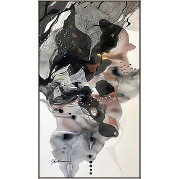 exodus 1 an original painting on silk by john martono