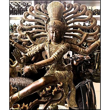 shiva bronze statue