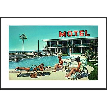 thunderbird motel a limited edition print by steve rosendale