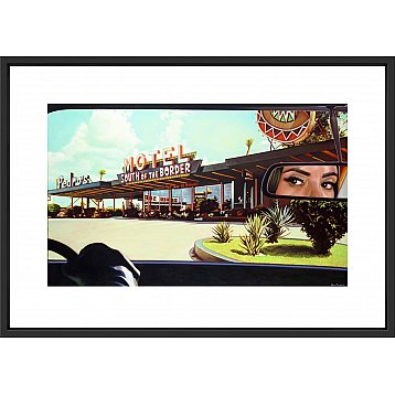 south of the border a signed limited edition print by steve rosendale