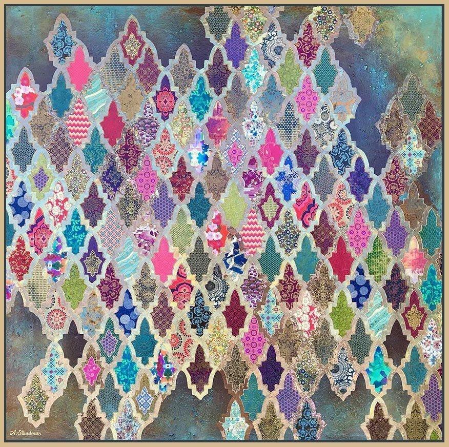 """""""Marrakech Dream"""" an original painting by Amanda Steadman Gallery"""