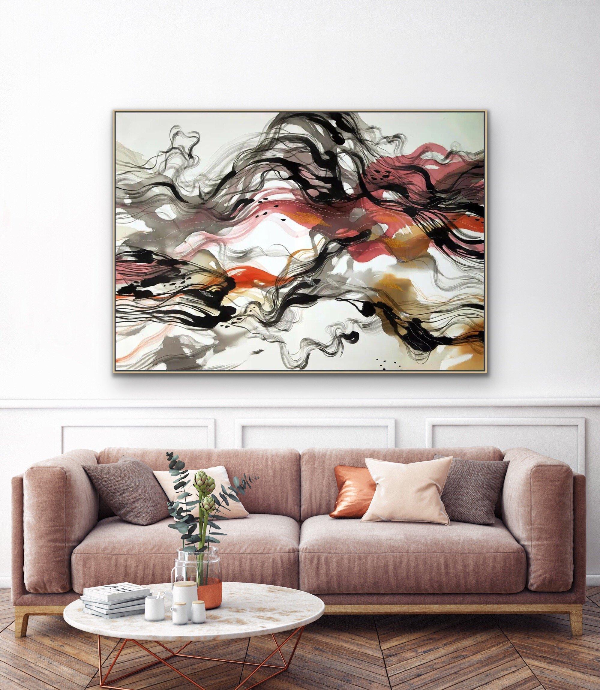 """Follow Me"" an original painting by John Martono Gallery"