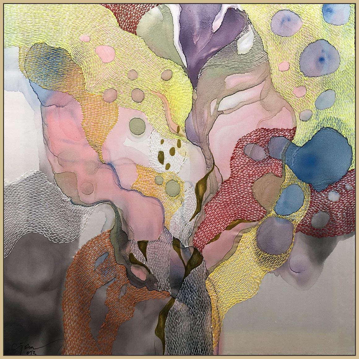 """""""Selamat Pagi"""" an original painting by John Martono Gallery"""