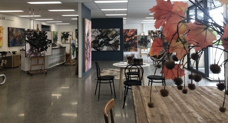 Tusk Gallery features John Martono