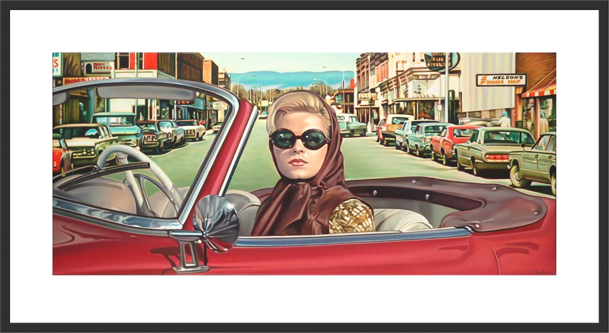 """The Material Gaze"" A Signed Limited Edition Print by Steve Rosendale Gallery"