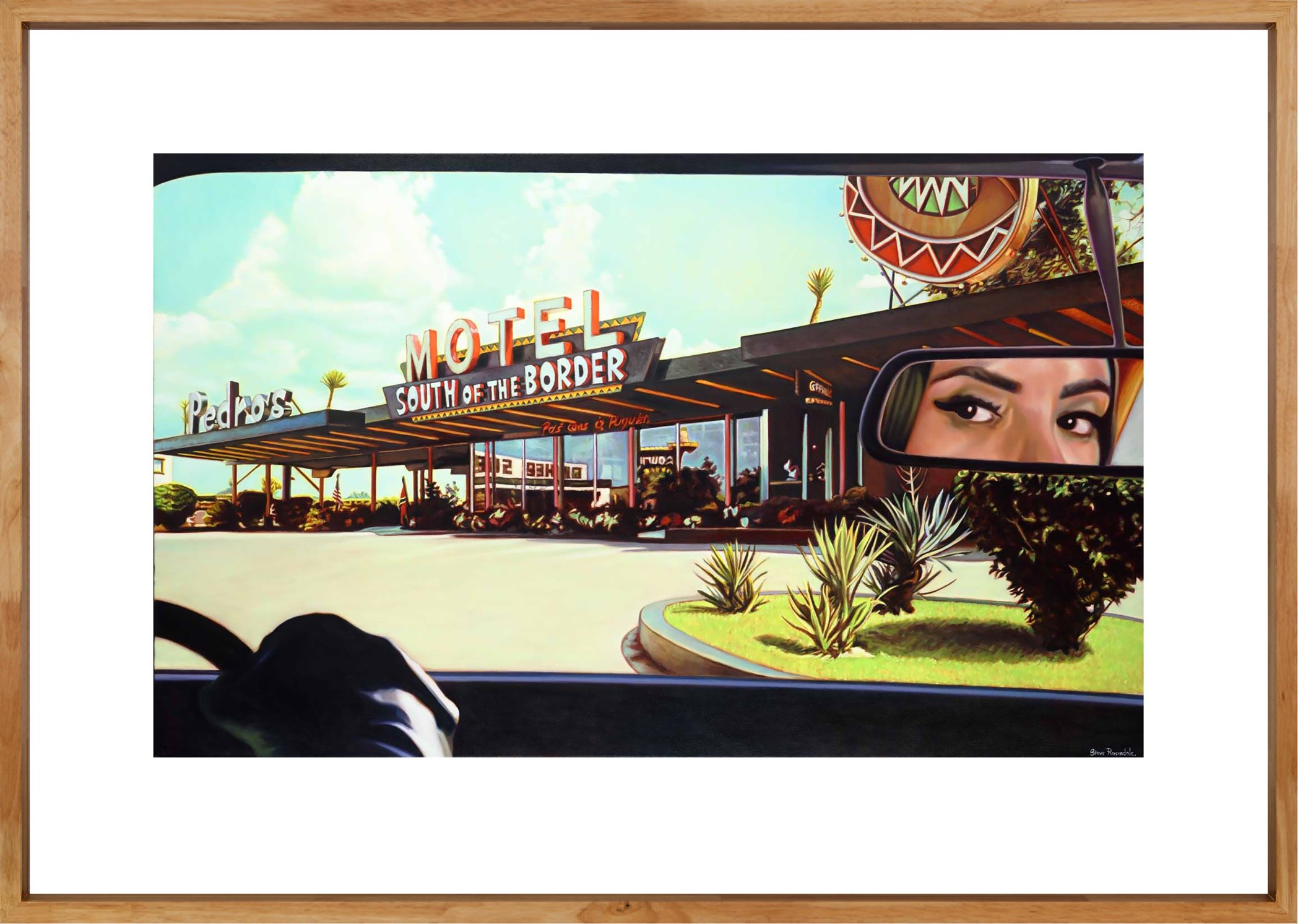 """""""South Of The Border"""" A Signed Limited Edition Print by Steve Rosendale Gallery"""